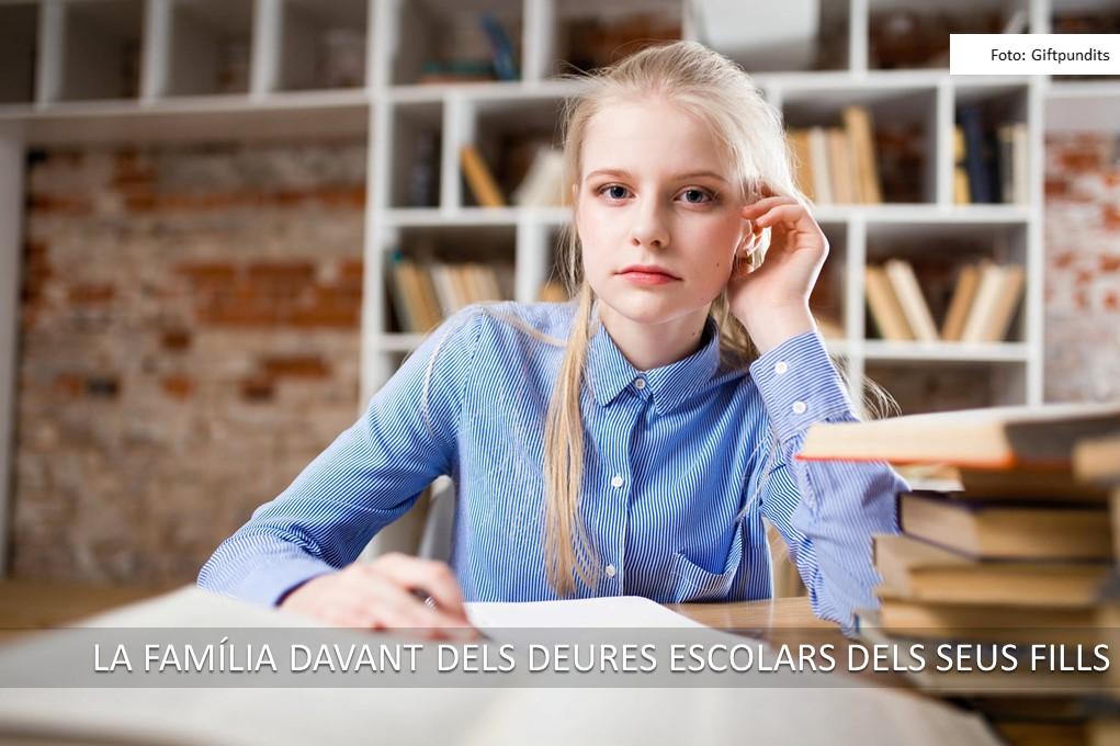 Esl deures escolars dels fills adolescents