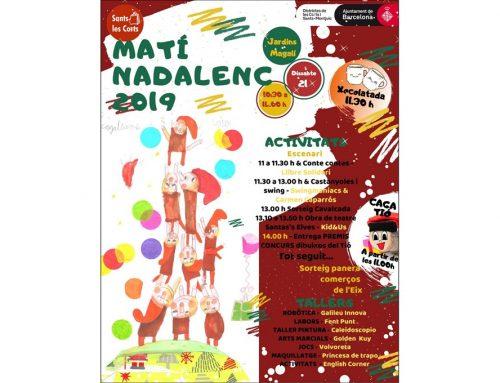 Matí Nadalenc 2019 Eix Comercial Sants Les Corts