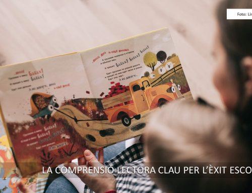 La comprensió lectora clau per l'èxit de l'aprenentatge escolar